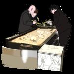 火葬場の画像