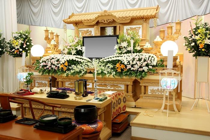 葬儀をきちんと比較したおかげで最安値で立派な葬儀をあげた時の画像