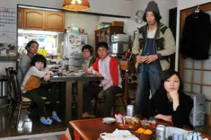 稲垣家の喪主の動画画像